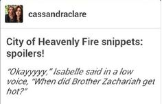 City of Heavenly Fire snippets  OH MMY GOOOOOOSSSHHH!!  I'M SO EXCITED!!!!!