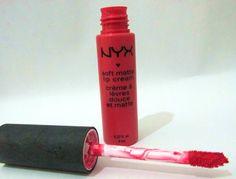 resenha batom pink nyx maquiagem