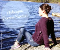The Drizzle of Honey: Aubergine Cocoon Sweater Love it!