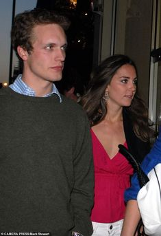 During the time she and Prince William had split, she was seen in Mahiki with Henry Ropner...