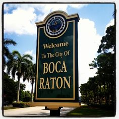 Boca Raton is an amazing place. Fun for all, the city is very clean and orgnized. Pretty beaches, nice restaurants, parks, schools and events. Delray Beach, West Palm Beach, Boca Raton Restaurants, Boca Raton Real Estate, Miami Orlando, Boca Raton Florida, Pretty Beach, Sofa Beds, Beach Gardens