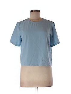 Forever 21 Women Short Sleeve Blouse Size M
