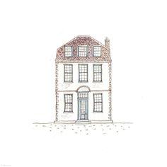 197. White House | Rebecca Horne, illustration