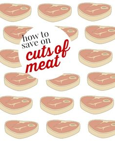 There aren't many coupons for meat, but you can still save on it! Here are some tips on how to save on cuts of meat.