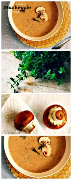 Creamy Cauliflower Mushroom Soup Recipe Mushroom Soup