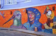 Valparaiso street art  credits: Felipe Bascuñán