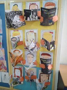 Decoración biblioteca escolar