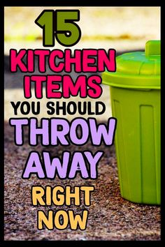 Kitchen organization hacks – declutter and organize your kitchen by throwing away these 15 kitchen clutter items RIGHT NOW. Kitchen organization hacks – declutter and organize your kitchen by throwing away these 15 kitchen clutter items RIGHT NOW. Organizing Hacks, Clutter Organization, Home Organization Hacks, Kitchen Organization, Cleaning Hacks, Kitchen Storage, Organising, Decluttering Ideas, Organizing Kitchen Counters