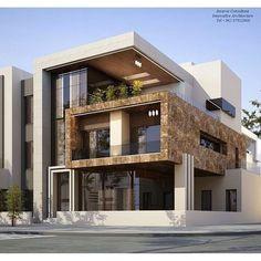 Modern Exterior House Designs, Modern Architecture House, Dream House Exterior, Modern House Design, Interior Architecture, Pavilion Architecture, Drawing Architecture, Architecture Portfolio, Sustainable Architecture