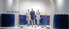 Скандинавский минимализм витрины бутика Nordstrom в Сиэтле, штат Вашингтон