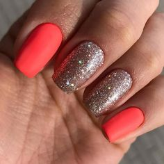 Winter wonderland nails silver gray and white ombr solar nails 39 hottest summer nail colors and designs to wear this season solutioingenieria Images
