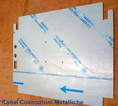 Canal Costruzioni Metalliche: Piega 1 - Piegatura coperchio protezione