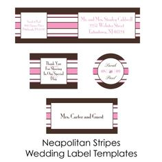 neapolitianstripes-free printables worldlabel