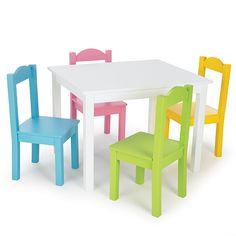 Tot Tutors Table & 4 Chair Set - BestProducts.com
