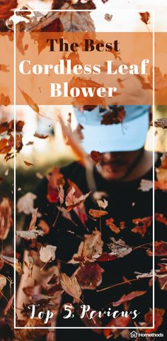 The Best Cordless Leaf Blowers - Top Reviews. #gardening #tools #productreview