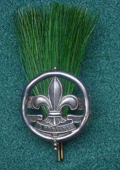 1910 UK Scout Master Hat Badge