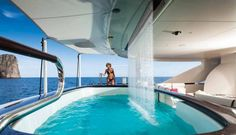 Motor Yacht Quinta Essentia -  Aft Deck