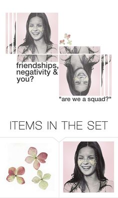 """are we a squad?"" by flustered-zine ❤ liked on Polyvore featuring art"