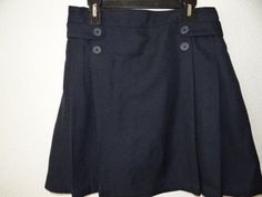 GIRL'S DOCKERS NAVY BLUE EASY CARE SCOOTER SIZE 16 & 20.5 NWT MSRP $27.99  #DOCKERS #Everyday