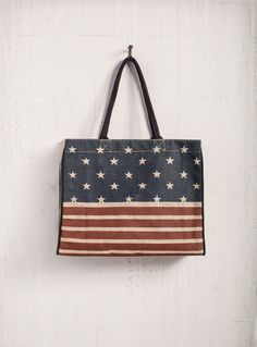 Patriot Market Tote by Mona B - Marmalade Mercantile