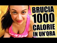 Allenamento completo per dimagrire e tonificare i muscoli e bruciare 1000 calorie in un'ora a casa - YouTube 1000 Calories, Burn Calories, Yoga Fitness, Health Fitness, Pilates Video, Gym Body, Bodybuilding Motivation, Total Body, Workout Videos