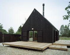 Wood Doors to Cover Glass.  All Around Beautiful Dutch Barn.