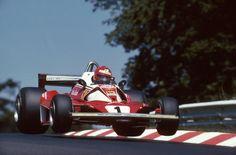 Niki Lauda (AUT) (Scuderia Ferrari), Ferrari 312T2 - Ferrari Tipo 015 3.0 F12 -  1976 German Grand Prix, Nürburgring Nordschleife  © Scuderia Ferrari