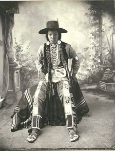 Nez Perce Indian, Washington, 1899 ~Repinned via Anita (Elphie) Johnson