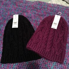 ‼️FINAL PRICE New! Hats‼️ Super cute brand new with tags! Lot of 2 for $15 New York & Company Accessories Hats