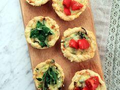 Italienska minipajer   Recept från Köket.se
