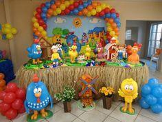 decoração de festa infantil galinha pintadinha como fazer - Pesquisa Google