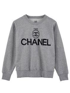 fake chanel sweatshirt