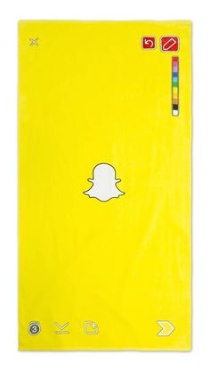 For only $25 this official Snapchat beach towel can be yours.