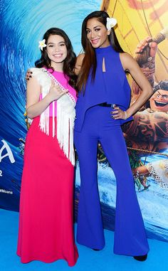 Auli'i Cravalho & Nicole Scherzinger from The Big Picture: Today's Hot Pics Gorgeous! The stars are all smiles during the Moana screening in London.