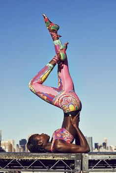 "NIKE PRO MAGICAL KALEIDOSCOPE WOMEN'S TIGHTS ""To picture a body in motion, Yuko looked to the circus, envisioning a fantastically colorful environment rich with movement and music. "" #skinnygirlculture #sgc"