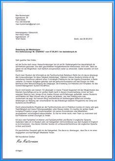 3 anschreiben bewerbung muster 2014 business template - Anschreiben Industriekaufmann