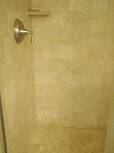 Cleaning A Travertine Shower  They Recommend MB 1 Soap Scum Remover. Never