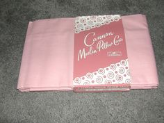 Vtg Mid Century Pink Cannon Muslin Pillow Cases Rose by ThenForNow, $24.99