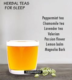 Natural Sleep Aids – 8 Best Herbal Teas for Sleep