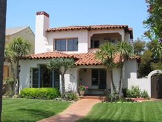 Historic Coronado Properties: Spanish-Style Coronado Homes