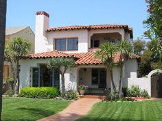 Dream Home chronicles: Historic Coronado Properties: Spanish-Style Coronado Homes