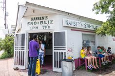 The beloved Hansen's Sno-Bliz opens up for the season on March 1 — the no-shortcuts approach and house-made syrups are worth every single second spent in line.