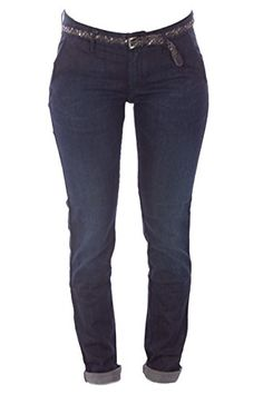 2LUV Womens Solid Stretchy 5 Pocket Skinny Denim Jeans Blue Denim 3 *** Be sure to check out this awesome product.
