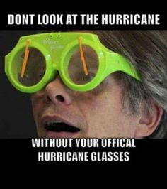 Dont Forget Your Official Hurricane Glasses http://ift.tt/2eGYUXz