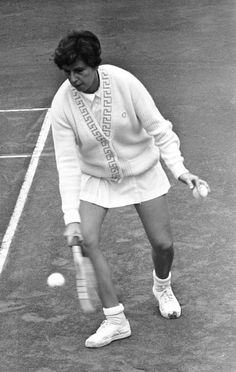 Maria Esther Andion Bueno (born 11 October 1939) is a former professional tennis player from Brazil. During her 11-year career in the 1950s and 1960s (plus a two-year comeback in 1976–77), she won 19 Major titles (seven singles, 11 women's doubles, one mixed doubles). She was the year-end number-one ranked female player four times and was known for her graceful style of play. In 1960, Bueno became the first woman ever to win all four Grand Slam double titles in one year (three with Darlene…