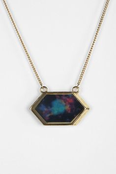Picture Of The Sky Necklace- Hexagon- Urban Outfitters- $16.00