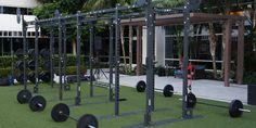 14′ Monkey Bar Rack – Hilton Bayfront – San Diego, CA