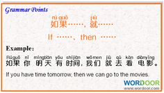 Wordoor Chinese - Grammar points #chinese #mandarin #chinesegrammar #grammar