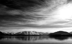 File:Lake-mountains-grayscale-black-and-white-nature.jpg