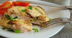 Мясо по-французски с говядиной и грибами